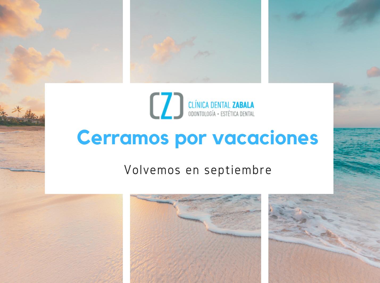 Cerramos por vacaciones hasta septiembre